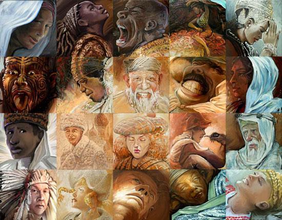 mosaic self illusion
